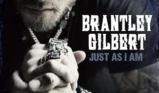 "This CD cover image released by Valory shows ""Just As I Am,"" the latest release by Brantley Gilbert. (AP Photo/Valory)"