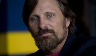 Actor Viggo Mortensen of the film Juaja poses for a portrait  for the 67th international film festival, Cannes, southern France, Monday, May 19, 2014. (AP Photo/Alastair Grant)