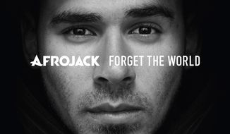 """This CD cover image released by Island Def Jam shows """"Forget the World,"""" by Afrojack. (AP Photo/Island Def Jam)"""