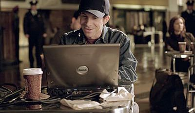 Actor Seth Green plays a computer hacker in the 2003 film The Italian Job.