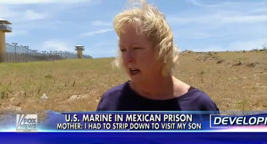 Jill Tahmooressi, an American woman whose son, 25-year-old Sgt. Andrew Tahmooressi, is being held in a Mexican prison on weapons charges is pleading with the U.S. government to intervene. (Fox News)