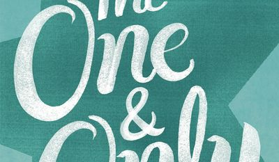 """This book cover image released by Ballantine shows """"The One & Only,"""" by Emily Giffin. (AP Photo/Ballantine)"""