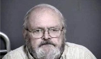 This undated police mugshot provided by the Warren County Sheriff's office shows 75-year-old Harveysburg, Ohio, Mayor Richard Verga who was charged with a misdemeanor count after investigation of allegations by a female employee. (AP Photo/Warren County Sheriff's Office)