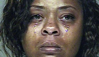 FILE - Shanesha Taylor is shown in an undated photo provided by the Scottsdale Police Department. Taylor, a Phoenix woman will get supervised visits with her young sons, the children she left in a hot car while attending a job interview. A Maricopa County Superior Court commissioner agreed Thursday May 22, 2014, to allow Taylor to have contact with her 2-year-old and 6-month-old sons if a Child Protective Services worker is present.   (AP Photo/Scottsdale Police Department, File)