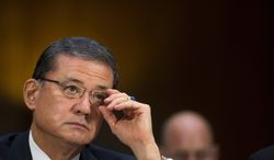 """Veterans Affairs Secretary Eric K. Shinseki continues to face questions about patient wait lists and calls for his resignation. The Obama administration was warned about """"systemic"""" VA problems in 2008. (associated press)"""