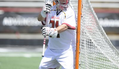 Niko Amato has been a longtime fixture in goal in College Park. He has his last shot at an NCAA title in 2014. (Maryland Athletics)