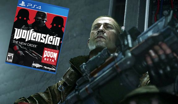 "Capt. William ""B.J."" Blazkowicz stars in the first person shooter Wolfenstein: The New Order."