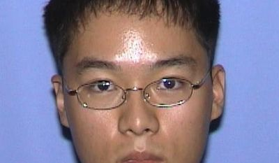 FILE - This undated file photo released by the Virginia State Police shows Cho Seung-Hui. Seung-Hui, of South Korea, was identified by police as the gunman suspected in the massacre that left 33 people dead at Virginia Tech in Blacksburg, Va., Monday, April 16, 2007. (AP Photo/Virginia State Police, File)