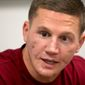 Medically retired Marine Lance Cpl. Kyle Carpenter will be awarded the Medal of Honor by President Obama on June 19. (Associated Press)