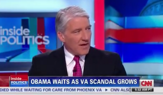 "CNN's John King said Sunday morning that Democrats in key races are distancing themselves from President Obama, calling him ""detached"" in his handling of the V.A. scandal. (CNN)"