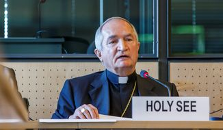 "Archbishop Silvano M. Tomasi,  the Vatican's permanent observer to the U.N., called the report a reflection of the ""good faith efforts"" made by the church to address the abuse, but noted several points on which the two sides disagree. (Associated Press)"