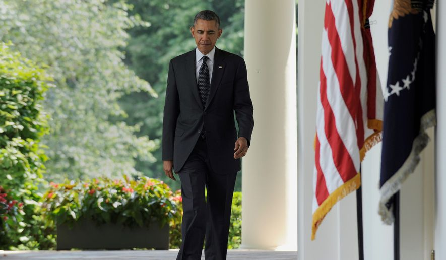 """The next steps: President Obama wants to keep 9,800 U.S. troops in Afghanistan after military operations formally end this year, part of his plan of """"finishing the job we started."""" Meanwhile, he will send military advisers to Syria. (ASSOCIATED PRESS)"""