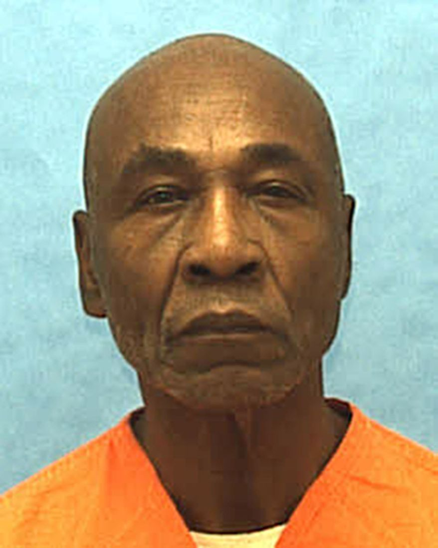 This undated photo made available by the Florida Department of Corrections shows inmate Freddie Lee Hall. Hall. The Supreme Court ruled Tuesday that states must look beyond an intelligence test score in borderline cases of mental disability to determine whether a death row inmate is eligible to be executed. The justices said in a 5-4 decision that Florida and a handful of other states cannot rely solely on an IQ score above 70 to bar an inmate from claiming mental disability. Justice Anthony Kennedy said for the court that IQ tests have a margin of error, and those inmates whose scores fall within the margin must be allowed to present other evidence of mental disability. (AP Photo/Florida Department of Corrections, HO)