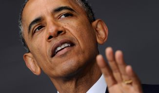 In speech after speech, President Obama blames everyone but himself for the nation's woes. (associated press)