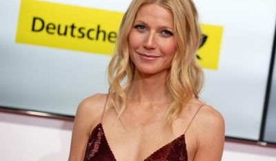 """FILE - This Feb. 1, 2014 file photo shows American actress Gwyneth Paltrow at the Goldene Kamera (Golden Camera) media awards in Berlin, Germany. Paltrow took to Goop and the lifestyle site's regular weekly email Friday, March 28, to offer thanks to supporters standing by her and her """"consciously uncoupled"""" husband, Chris Martin, in their freshly announced separation. (AP Photo/Axel Schmidt, File)"""
