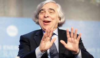 Secretary of Energy Ernest Moniz has toured Louisiana's Gulf Coast oil and gas operations to assure the industry the administration supported its growth. At his side was Sen. Mary Landrieu, one of the Democrats' most vulnerable incumbents in this fall's election. (Associated press photographs)