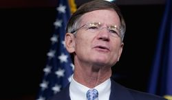 """""""The Obama administration should stop trying to scare Americans and then impose costly, unnecessary regulations on them,"""" said House Science, Space and Technology Committee Chairman Lamar Smith. """"When assessing climate change, we need to make sure that findings are driven by science, not an alarmist, partisan agenda."""" (Associated Press)"""