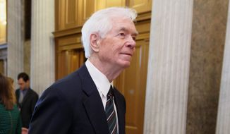 Sen. Thad Cochran (left), who has served in Congress for over four decades, is facing a challenge from Republican state Sen. Chris McDaniel. (associated press photographs)
