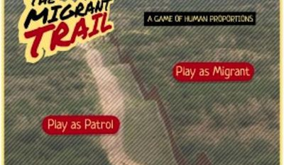 """New York University Professor Marco Williams says his game, """"The Migrant Trail,"""" is a chance for students to experience and truly understand the human toll of U.S. immigration policy. (TheUndocumented.com)"""