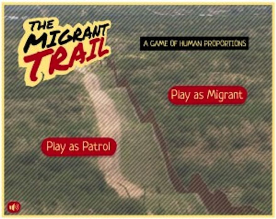 "New York University Professor Marco Williams says his game, ""The Migrant Trail,"" is a chance for students to experience and truly understand the human toll of U.S. immigration policy. (TheUndocumented.com)"