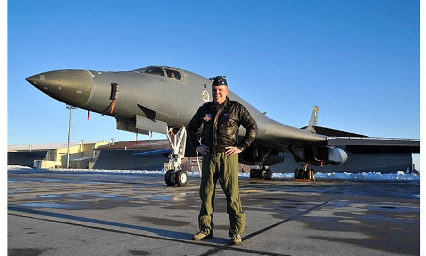 Capt. Mike Gongol helped to land a Boeing 737 at an Omaha, Nebraska airport last December after the pilot suffered a heart attack. (U.S. Air Force)