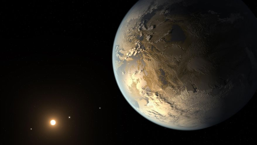 NASA has discovered a massive, rocky planet, dubbed Kepler-10c, that weighs 17 times as much as Earth. (AP Photo/NASA Ames, SETI Institute, JPL-Caltech, T. Pyle)