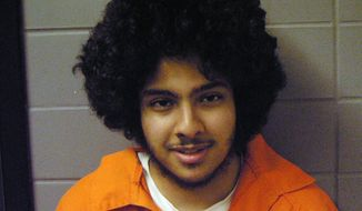 FILE - This undated file photo provided by the U.S. Marshal's office shows terrorism suspect Adel Daoud, of Hillside, Ill. On Wednesday, June 4, 2014,  at the 7th Circuit Court of Appeals in Chicago, a prosecutor and the attorney for Daoud, will deliver oral arguments about a trial judge's ruling granting the defense access to secret-court records. Prosecutors say that letting Daoud's lawyers to see the papers submitted to the Foreign Intelligence Surveillance Court could jeopardize national security. But Daoud's lawyers say it's the only way they can guarantee Daoud a fair trial. The 20-year-old Daoud denies trying to ignite a bomb in Chicago in 2012. (AP Photo/U.S. Marshal's office, File)