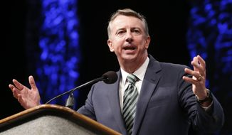 ** FILE ** Republican senatorial hopeful Ed Gillespie.  (AP Photo/Steve Helber)