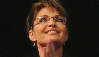 A nimble Sarah Palin has already offered commentary on Hillary Clinton's memoir before its publication. (ASSOCIATED PRESS)