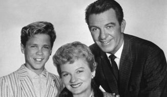 The cast from the 1950s hit TV show 'Leave it to Beaver.'