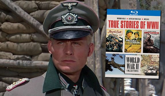"""Robert Shaw co-stars in """"Battle of the Bulge,"""" one of the movies part of Warner Home Video's True Stories of WWII Blu-ray collection."""