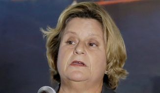 Rep. Ileana Ros-Lehtinen, Florida Republican, has raised concerns about the U.S.' ability to conduct large-scale reconstruction efforts. (Associated Press)