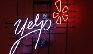 The Virginia Supreme Court has agreed to hear an appeal by the popular website Yelp, which was ordered earlier this year to turn over the names of seven reviewers who anonymously criticized a prominent local carpet-cleaning business. (AP Photo/Kathy Willens, File)