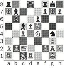 Shabalov-Sargissian after 17. Ne4.