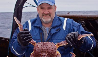 """Keith Colburn, a star of Discovery Channel's """"Deadliest Catch,"""" is in the nation's capital to talk over the tough business of commercial fishing. (Discovery channel)"""