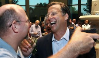 "In toppling House Majority Leader Eric Cantor, Dave Brat, above, showed Virginia GOP primary voters ""his candidacy was relevant to their lives,"" says Raynard Jackson. (AP Photo/Richmond Times-Dispatch, P. Kevin Morley)"