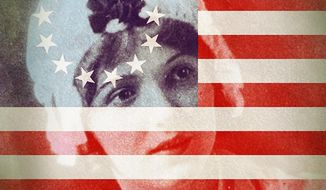 Betsy Ross Flag Illustration by Greg Groesch/The Washington Times
