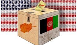 American Sacrifice Afghan Elections Illustration by Greg Groesch/The Washington Times