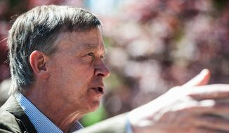 "Colorado Gov. John Hickenlooper, a Democrat, is working furiously to negotiate a compromise. Last week, he proposed a ""local control"" bill that would give cities and counties greater authority over setbacks, inspections and noise reduction rules. (associated press)"