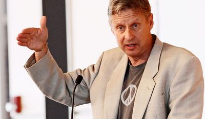Gary E. Johnson, the 2012 Libertarian candidate for president, will offer his own quirky alternative to the State of the Union speech on Tuesday night. (Associated Press)
