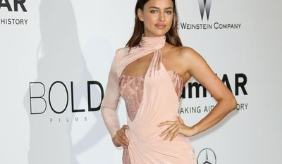 Supermodel Irina Shayk girlfriend to soccer superstar Cristiano Ronaldo (Photo by Joel Ryan/Invision/AP)