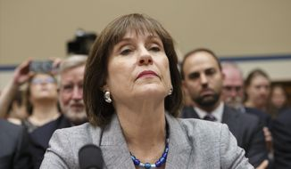 FILE - This May 22, 2013 file photo shows Internal Revenue Service (IRS) official Lois Lerner on Capitol Hill in Washington. The IRS says it has lost a trove of emails to and from a central figure in the agency's tea party controversy. The IRS told congressional investigators Friday it cannot locate many of Lois Lerner's emails prior to 2011 because her computer crashed that year. Lerner headed the IRS division that processed applications for tax-exempt status. The IRS acknowledged last year that agents had improperly scrutinized applications for tax-exempt status by tea party and other conservative groups. The IRS was able to generate 24,000 Lerner emails from 2009 to 2011 because Lerner had copied in other IRS employees. But an untold number are gone. (AP Photo/J. Scott Applewhite, File)