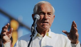 Former U.S. Rep. and presidential candidate Ron Paul. (AP Photo/The Hattiesburg American, Kelly Price)