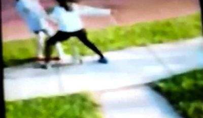 Cleveland police are investigating a possible hate crime after a 13-year-old black girl viciously attacked a 10-year-old white girl while allegedly shouting racial slurs. The beating was captured on video by a cell phone camera and posted to YouTube. (WOIO)