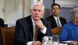 """""""I would say that our team does not practice together, we don't think together, we don't share information together, we don't work together,"""" said Rep. Pete Sessions of Texas, who dropped out of the race for majority leader last week. """"I'm for unity. I'm for a person who understands unity."""" (associated press)"""