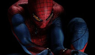 "In this publicity image released by Sony Pictures, Andrew Garfield portrays as Spider-Man in Columbia Pictures' ""The Amazing Spider-Man."" (AP Photo/Sony Pictures)"