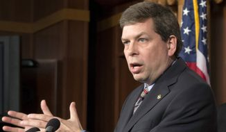 Sen. Mark Begich of Alaska, formerly the mayor of Anchorage, narrowly defeated scandal-plagued longtime Sen. Ted Stevens to win his Senate seat in 2008. Lt. Gov. Mead Treadwell, 2010 Senate candidate and tea party favorite Joe Miller and former Alaska Attorney General Daniel Sullivan are vying for the opportunity to challenge Begich for his seat in November. Alaska's primaries will be held on Aug. 19. (Associated Press)