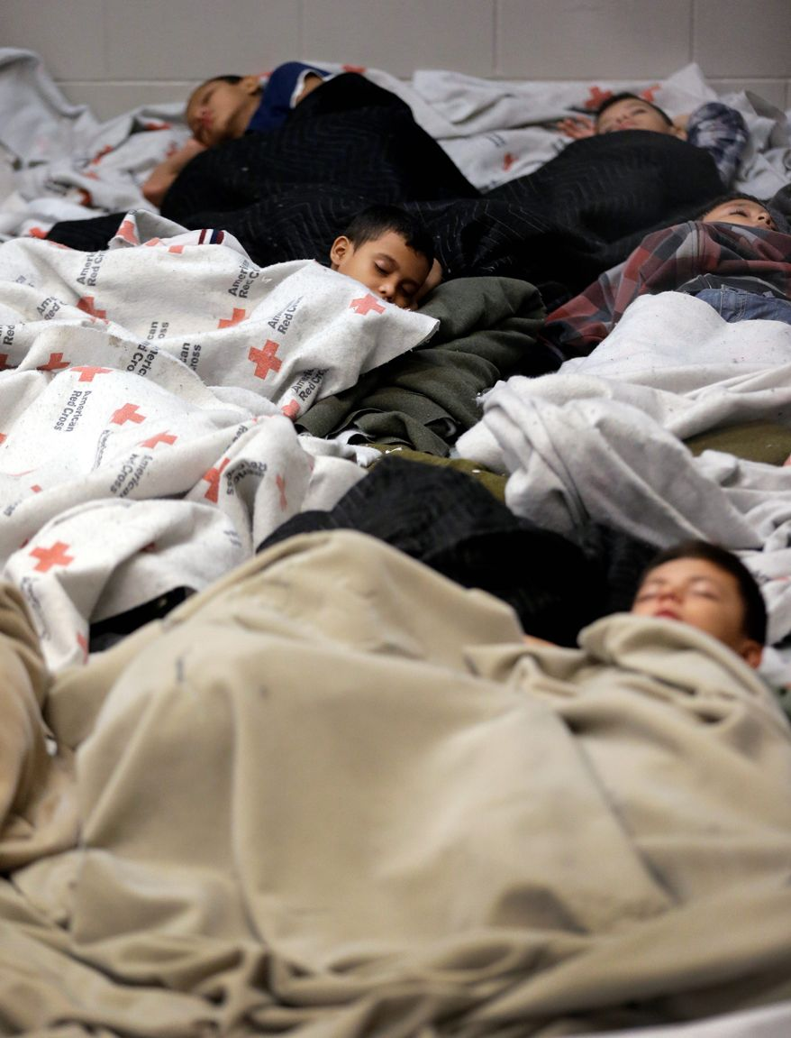 Child Care: Priorities for the Border Patrol agents manning the holding centers for illegal crossers in Arizona and Texas are to keep the youngsters safe, healthy, nourished and clean.