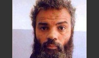 This undated image obtained from Facebook shows Ahmed Abu Khattala, an alleged leader of the deadly 2012 attacks on Americans in Benghazi, Libya, who was captured by U.S. special forces on Sunday, June 15, 2014, on the outskirts of Benghazi. U.S. officials are preparing to try the captured Libyan in the U.S. court system and pledging to step up efforts on catching others responsible for the deaths of the U.S. ambassador and three other Americans in the attacks. (AP Photo)