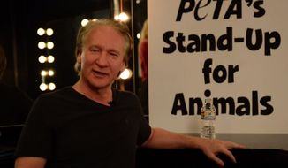"Bill Maher said in a video published Wednesday that his ""life-long Liam Neeson fandom has ended,"" due to the actor's emphatic support for New York City's horse-drawn carriages. (PETA)"